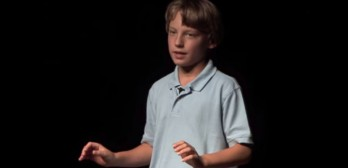 This Kid Calls Out The Corporate Food Producers.