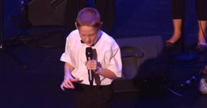 Blind Autistic Boy Surprises Everyone! This Will Melt Your Heart.