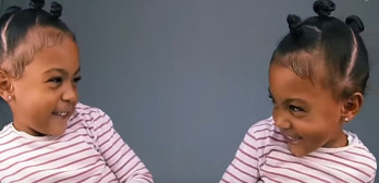 twins realize they look alike