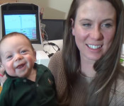 Baby's Getting To Hear Mom & Dad For The 1st Time And It's So Precious. Must See!