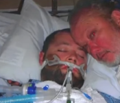 Father Pulls A Gun Refusing To Let Hospital Pull Plug On His Son, Then His Son Shocks Them All!