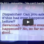 A 5 Yr Old's Dad Couldn't Breathe And Her 911 Call Had Our Jaws Dropping!