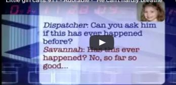 5 yr old's 911 call