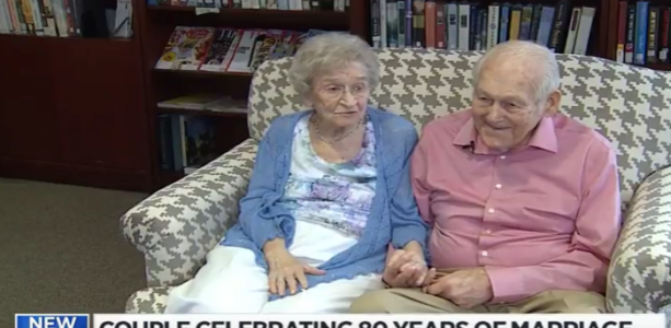 99 yr old's 80th wedding anniversary