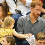 Adorable Toddler Steals Prince Harry's Popcorn At Invictus Games & Gets A Real Treat From Him