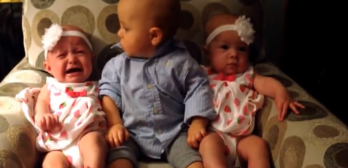 the best reaction to twins