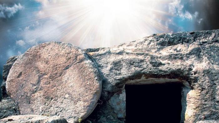 790 jesus resurection scene